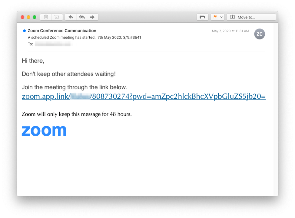 Zoom Doom How Inky Unraveled A Credential Harvesting Phishing Scam