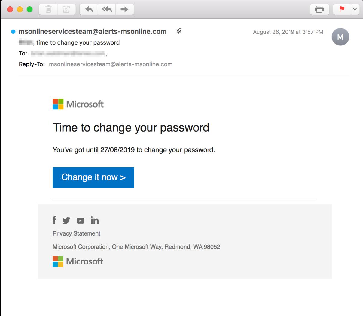 MicrosoftPhishingEmail