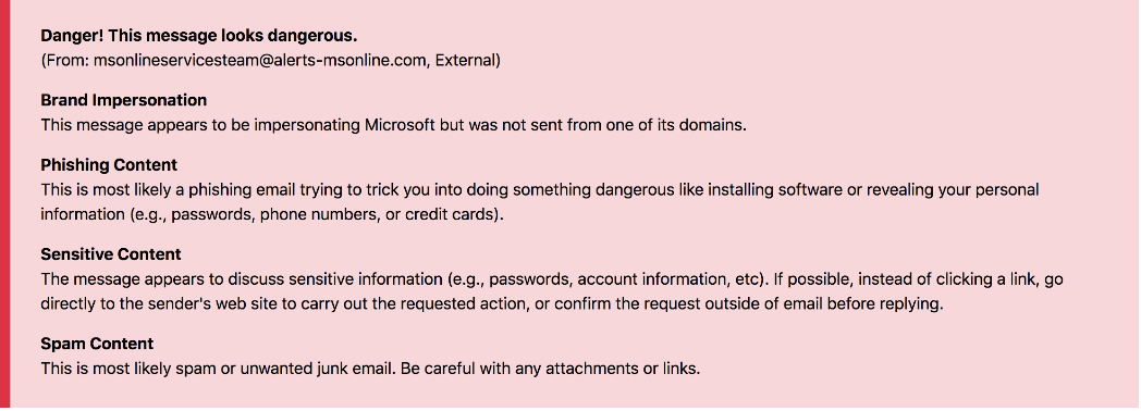 MicrosoftPhishingEmailWarning