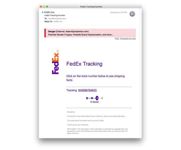 Phishing Catch of the Day - FedEx_1