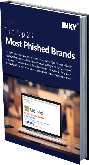 Top 25 Most Phished Brands - book only2