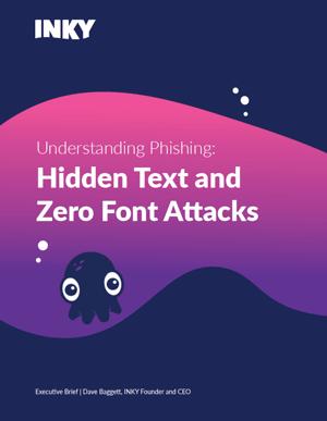 Understanding Phishing - Hidden Text and Zero Font - Cover image