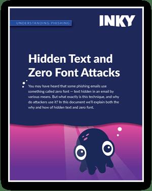 Understanding Phishing - Hidden Text and Zero Font - Cover