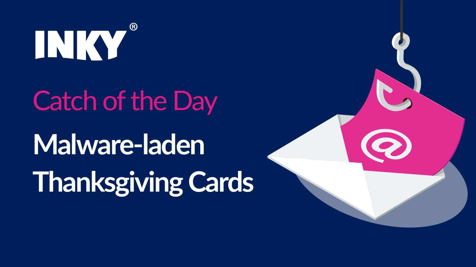 Catch of The Day: Malware-laden Thanksgiving Cards