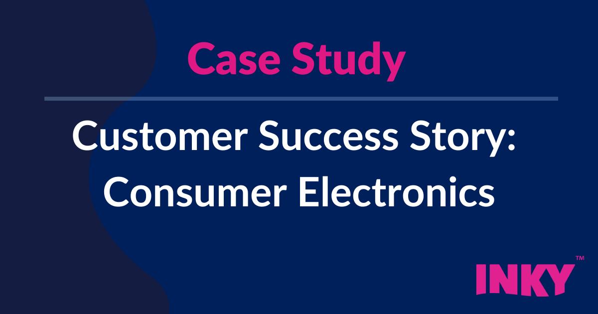 Consumer Electronics Company