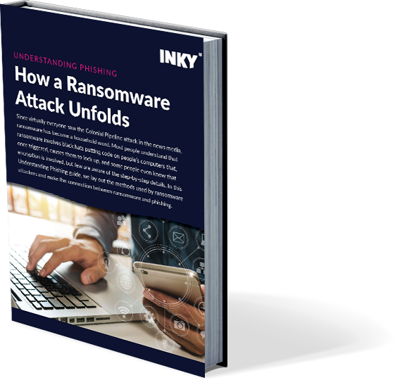 How a Ransomware Attack Unfolds - book cover