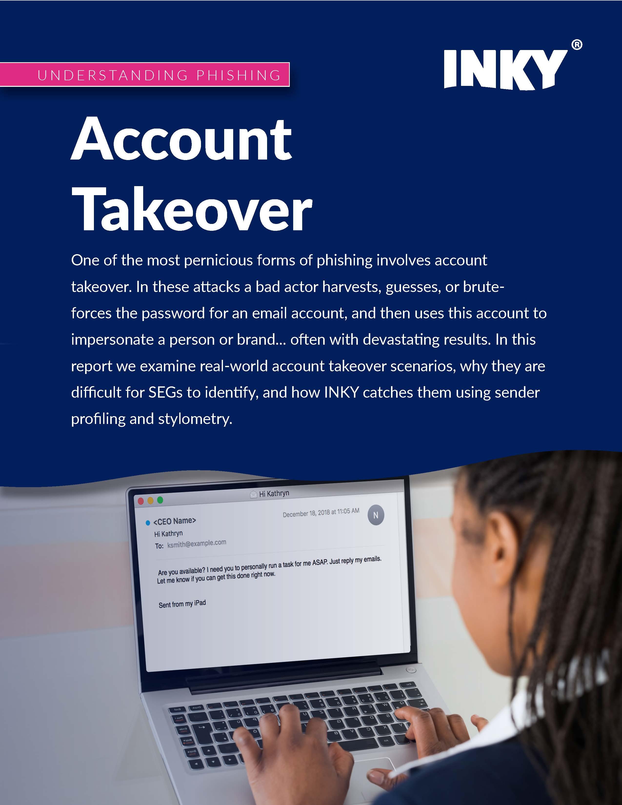 Understanding Phishing: Account Takeover