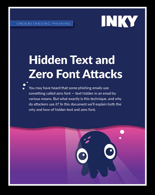 Understanding Phishing: Hidden Text and Zero Font
