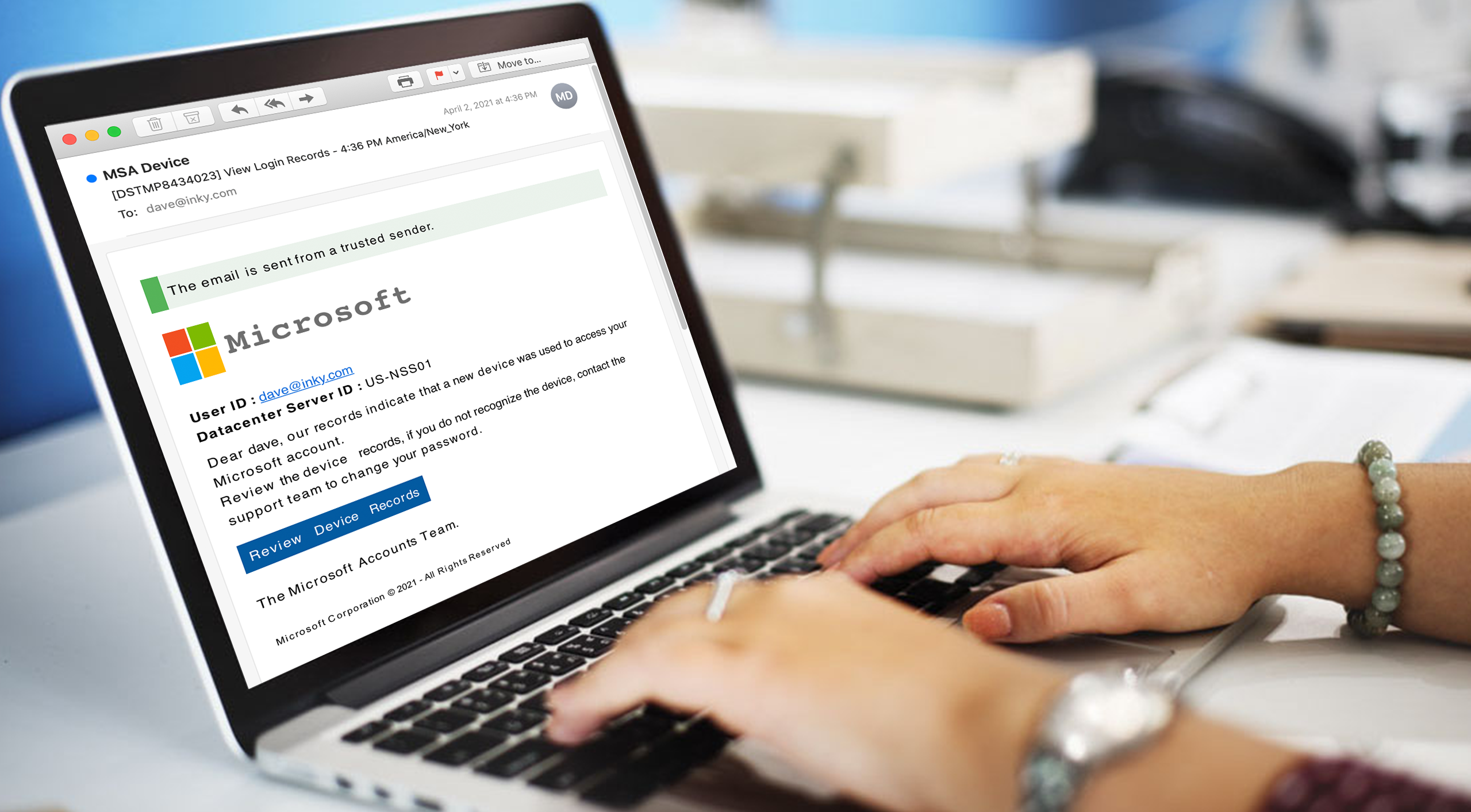 Understanding Phishing: Disappearing Banners